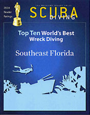 Top Ten Wreck Dive Areas at South Florida Diving Headquarters