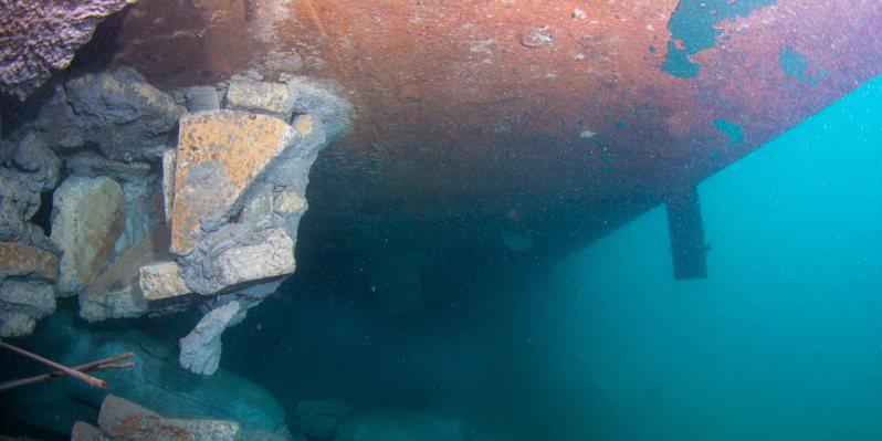 Under Barge