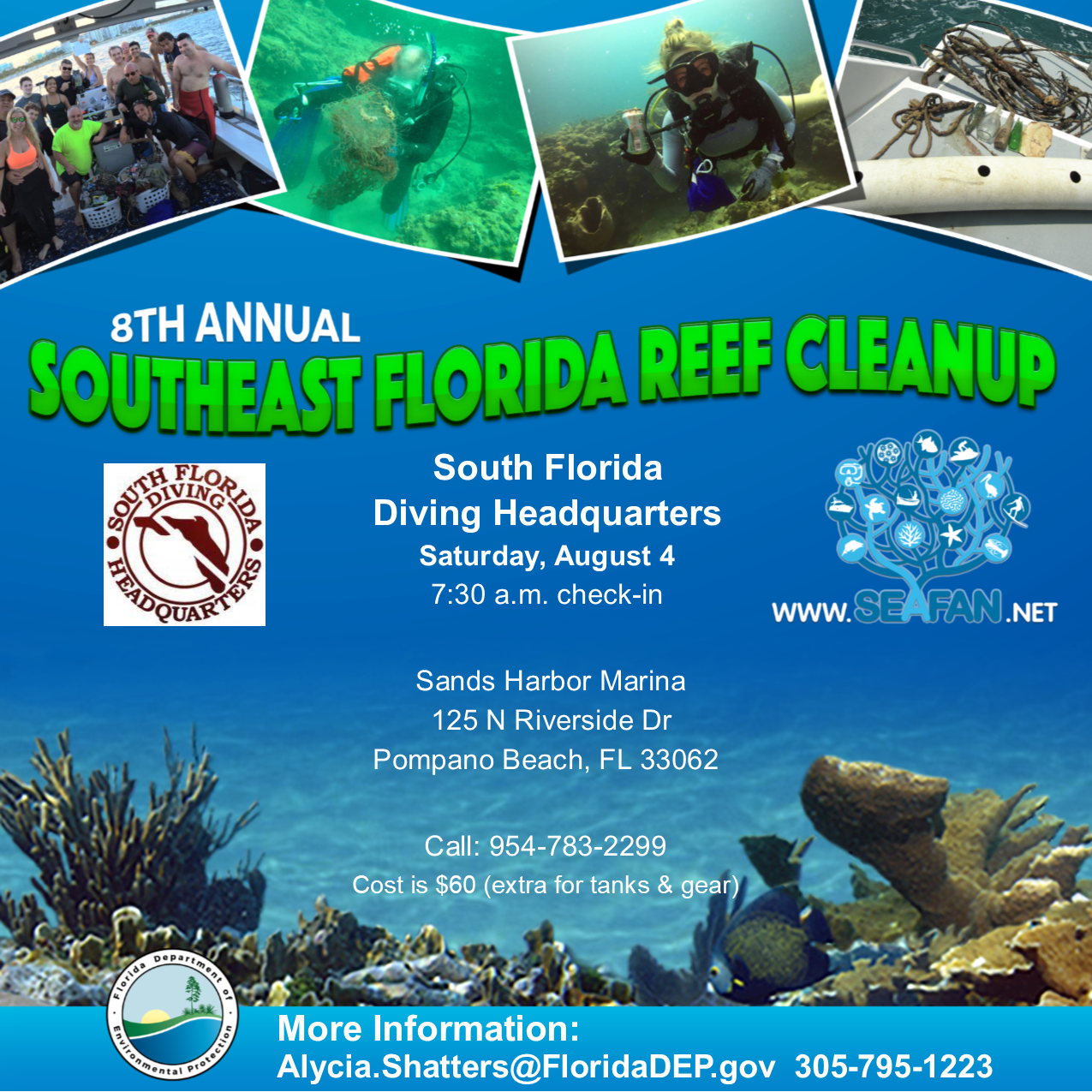 Reef Cleanup South Florida Diving Headquarters